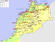 carte maroc PM